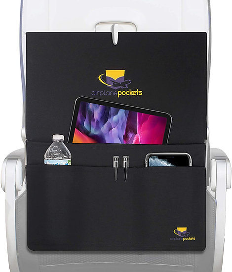 Sanitary Tray + Table Cover with Pockets for Planes