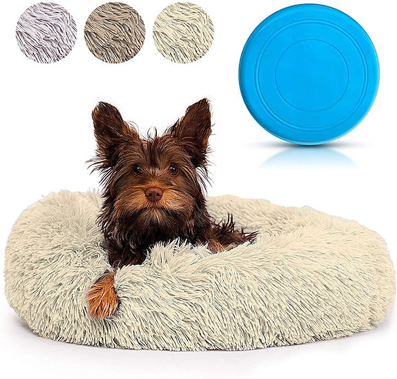Calming Dog Bed for Small & Medium Size Pet By MAiO