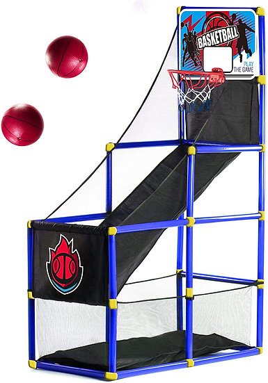 Arcade Blue Basketball Hoop Game by BestKidBall