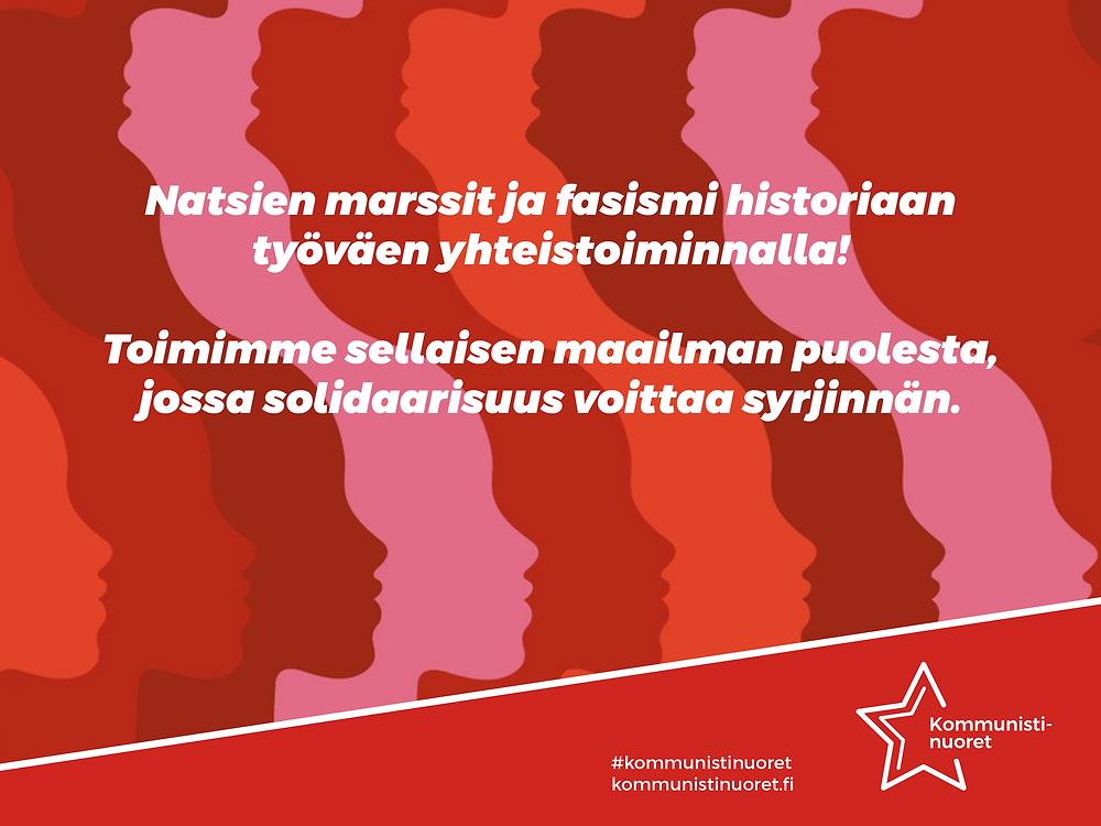 Bannerikuva: Solidaarisuus voittaa syrjinnän.
