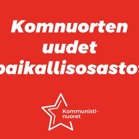 Kommunistinuorten paikallisosastot