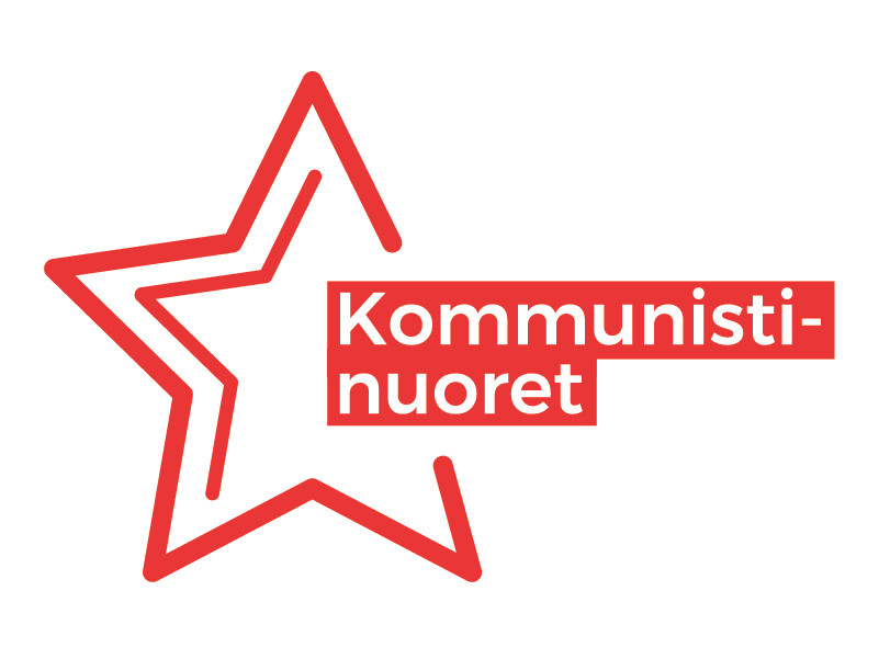 Kommunistinuorten logo.