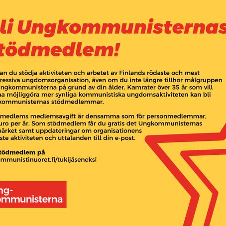 Bli Ungkommunisternas stödmedlem!