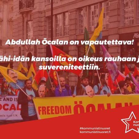 Abdullah Öcalan vapautettava!