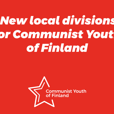 Local divisions for Communist Youth of Finland