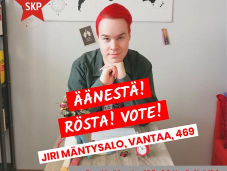 Rösta på valdagen!