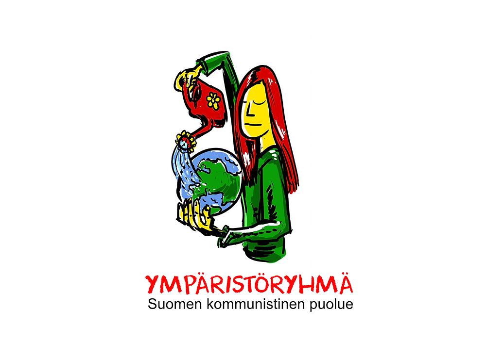 SKP:n ympäristöryhmän logo.