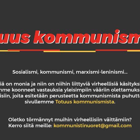 Lue totuus kommunismista!