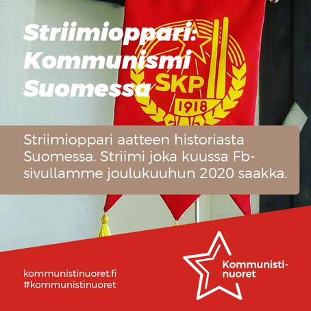 Opiskele kommunismin historiaa Suomessa kätevästi striimien avulla