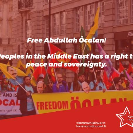 Free Abdullah Öcalan!