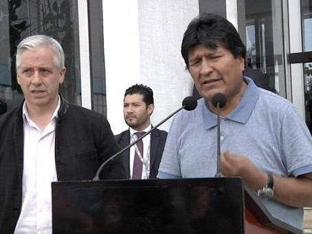 Myös Boliviassa ainoa tie on rauha