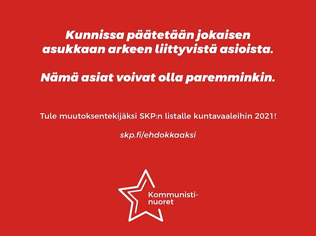 Some-kuva_tule SKPn listalle_kuntavaalit