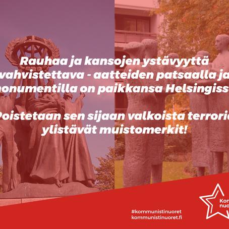 Lahtari-Marski pois julkisilta paikoilta!