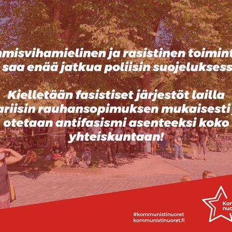 Kielletään fasistinen toiminta Suomesta