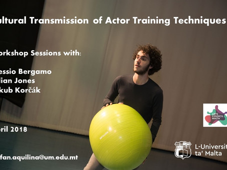 Workshops on Stanislavsky's magic 'if'