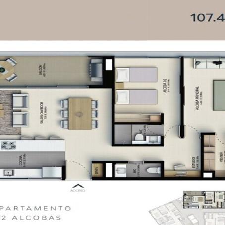 Projet constructions appartement à Medellín, Colombie - Med03