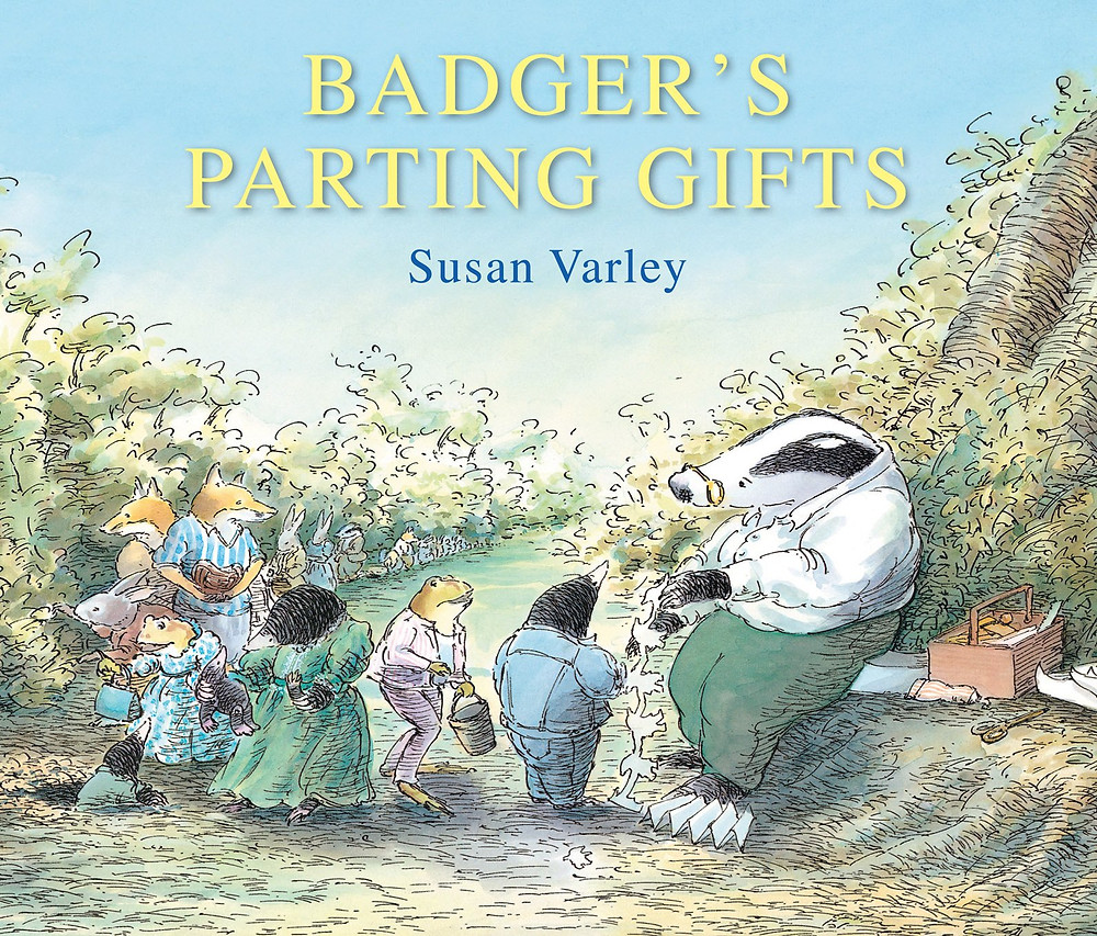 Positive mental health books for children - Badgers Parting Gifts by susan varley