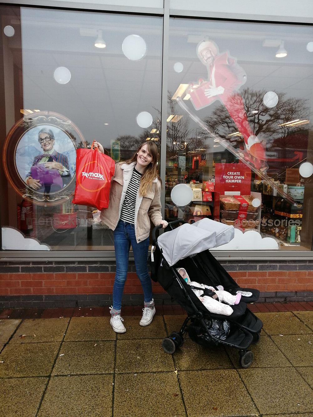 Shopping at Tk Maxx at christmas and how I saved money