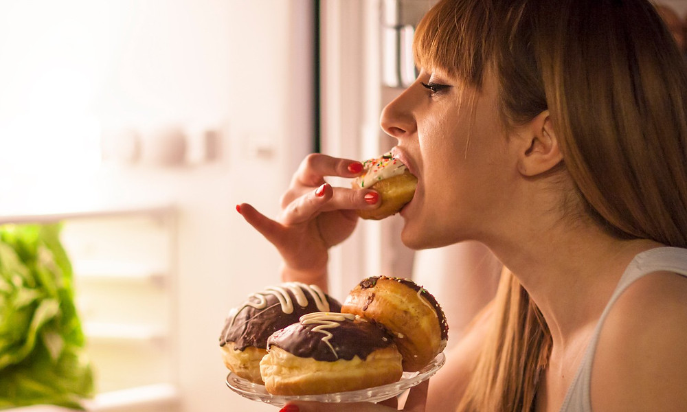 Women with sugar addiction