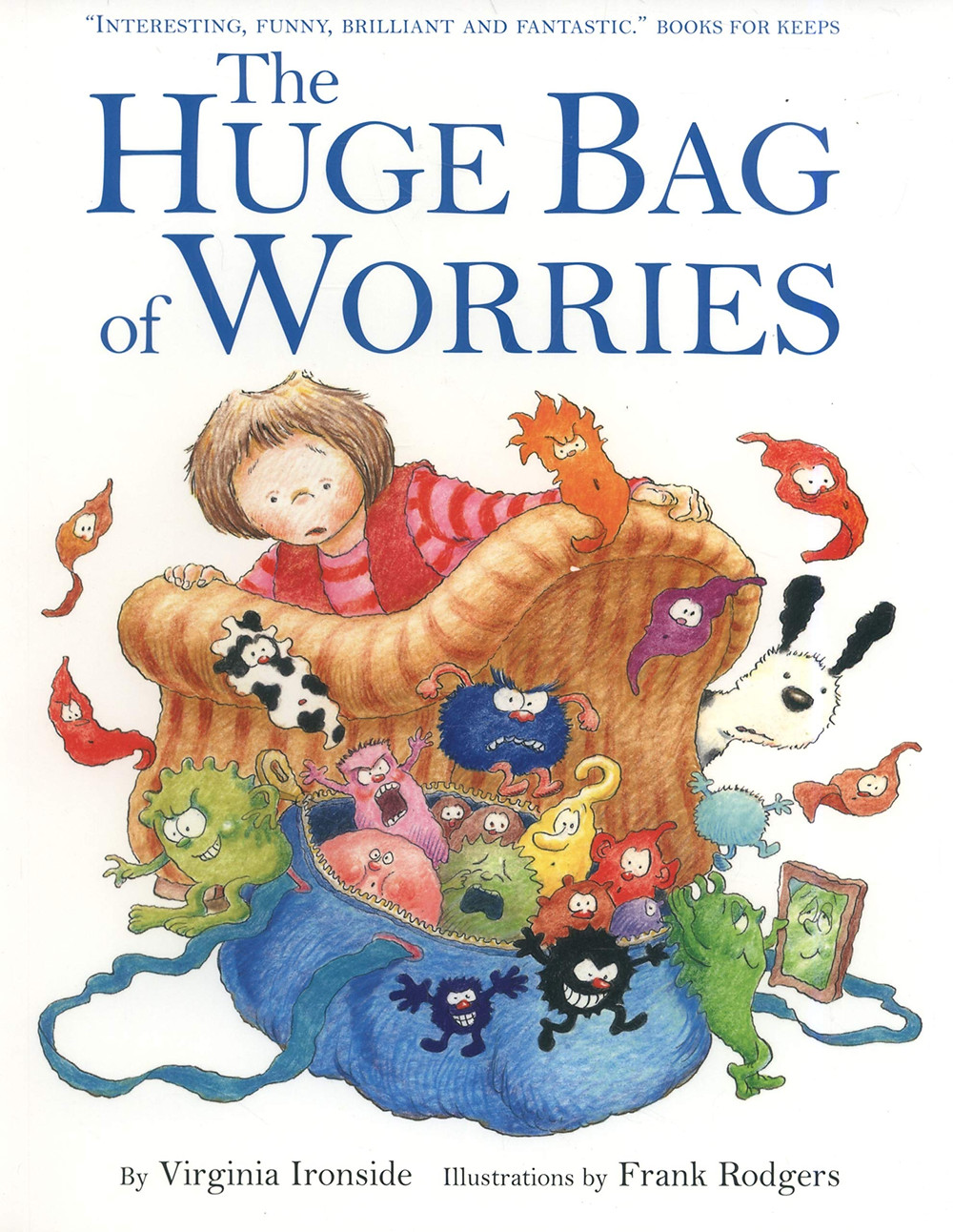 Positive mental health books for children - the huge bag of worries