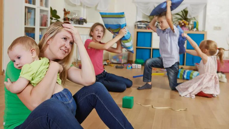 staying patient with children during isolation