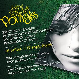 Affiche de l'Été des Portraits 2006