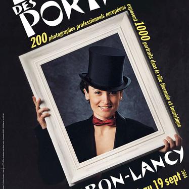 Affiche de l'Été des Portraits 2004