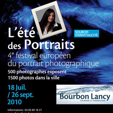 Affiche de l'Été des Portraits 2010