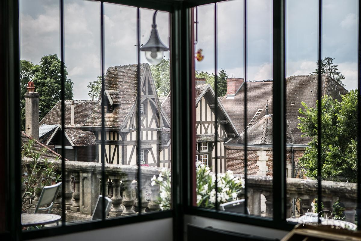 Les toits de Bourbon-Lancy