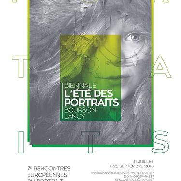 Affiche de l'Été des Portraits 2016