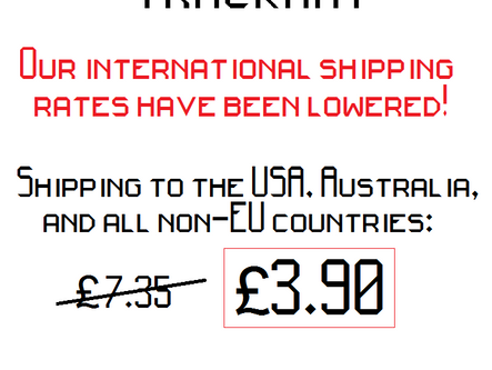 Lowering our international shipping costs by as much as 46%!!!
