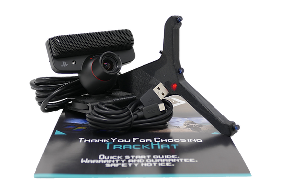 TrackHat clip plus head tracking kit