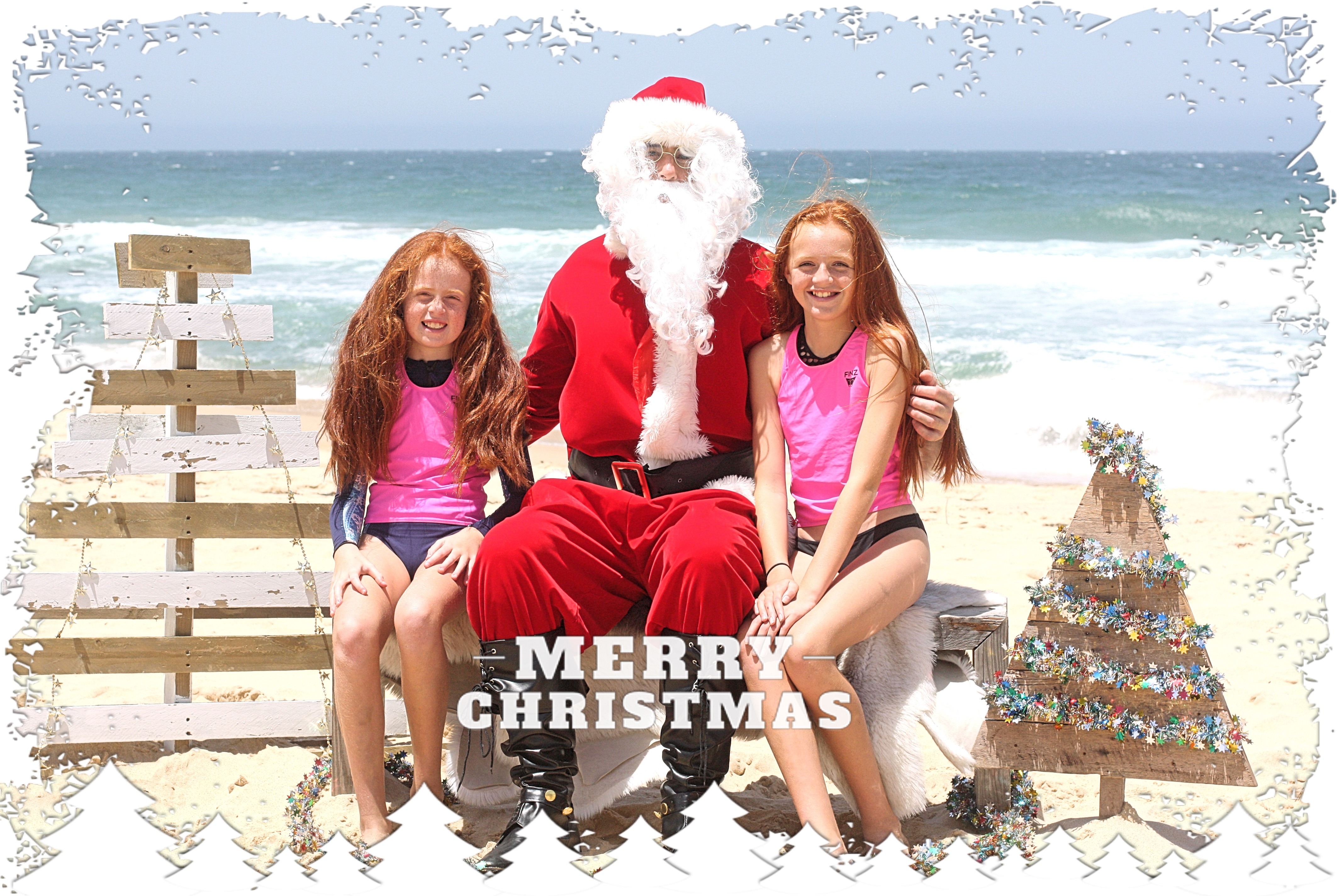 Santa Photos on the Beach 2020