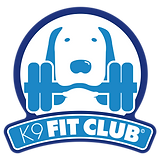 K9 Fit Club Logo - Two Tone MAIN Transpa
