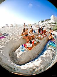 Hamper on the Beach for 4 people