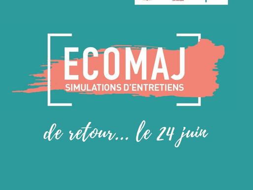 Les ECOMAJ reviennent le 24 juin! Nous comptons sur vous!