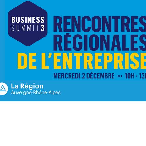 """Rencontres régionales de l'entreprise:  """"Face à l'incertitude, les clés de réussite"""" le 2 décembre"""
