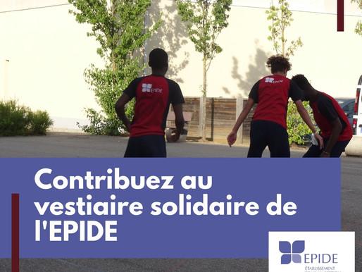 Faire un don pour le vestiaire solidaire de l'EPIDE