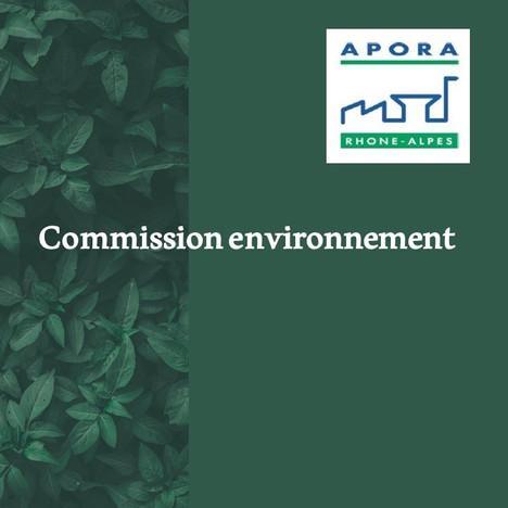 Commission environnement d'APORA  - jeudi 11 juin