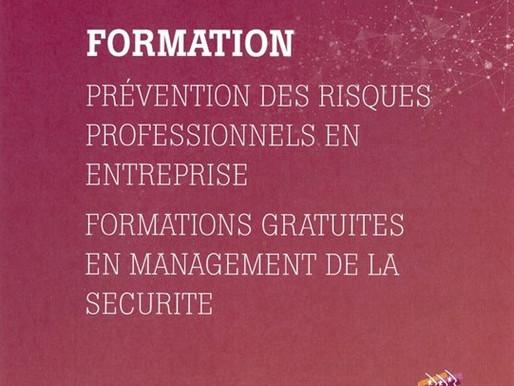 Formations gratuites à la prévention des risques professionnels en entreprise