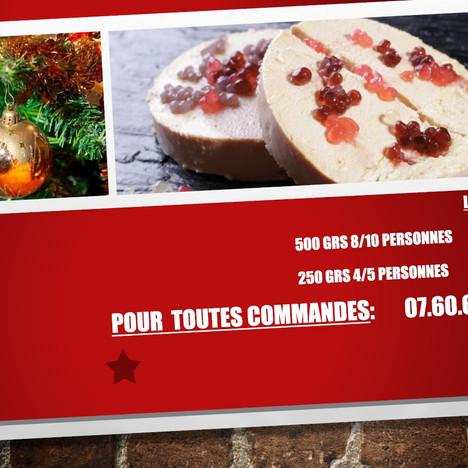Pour les fêtes, Le Tassigny renouvelle cette année sa vente de foie gras  et saumon gravlax !