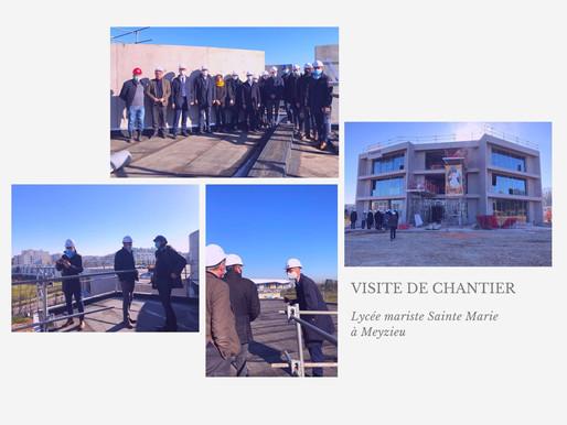 Retour sur la visite du chantier du Lycée Saint Marie