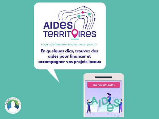 La plateforme Aides-territoires pour trouver en quelques clics tous les dispositifs vous concernant