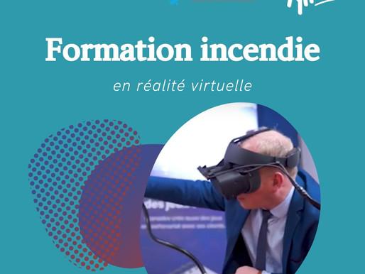 le 22 juin, inscrivez vos salariés à la formation incendie en réalité virtuelle