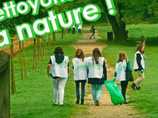 """Les jeunes de l'EPIDE volontaires pour l'action """"Nettoyons la Nature"""" aux abords de la ZI"""