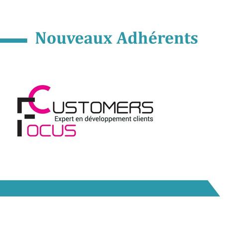 Découvrez nos nouveaux adhérents : Ce mois-ci nous vous présentons Customer Focus