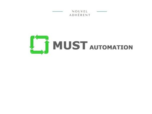 Découvrez MUST Automation, nouvel adhérent de l'AIRM