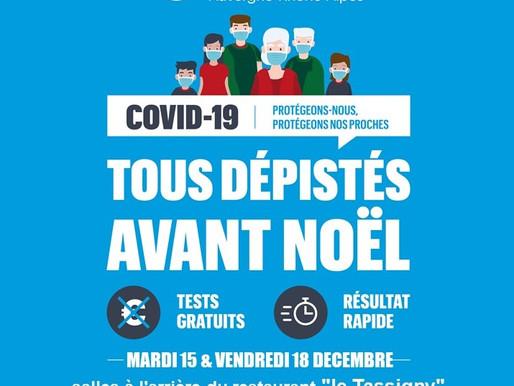 Campagne de dépistage COVID