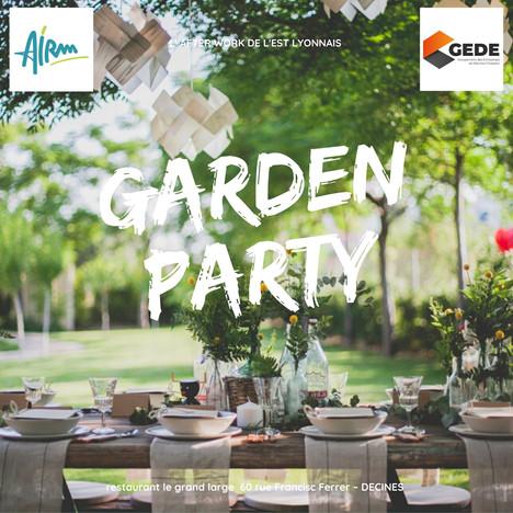 Garden Party de l'est lyonnais - jeudi 24 septembre