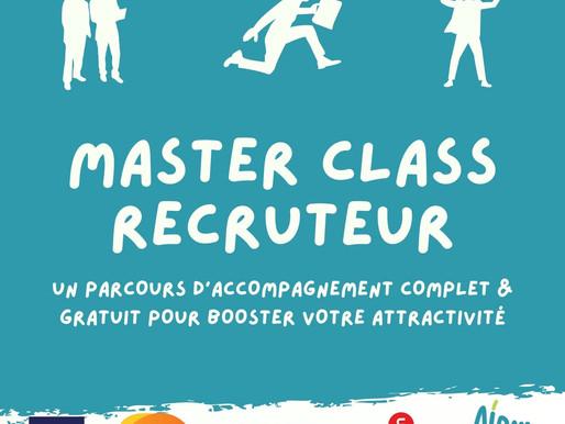 Des difficultés à recruter ? Inscrivez-vous à la Master class recruteur !
